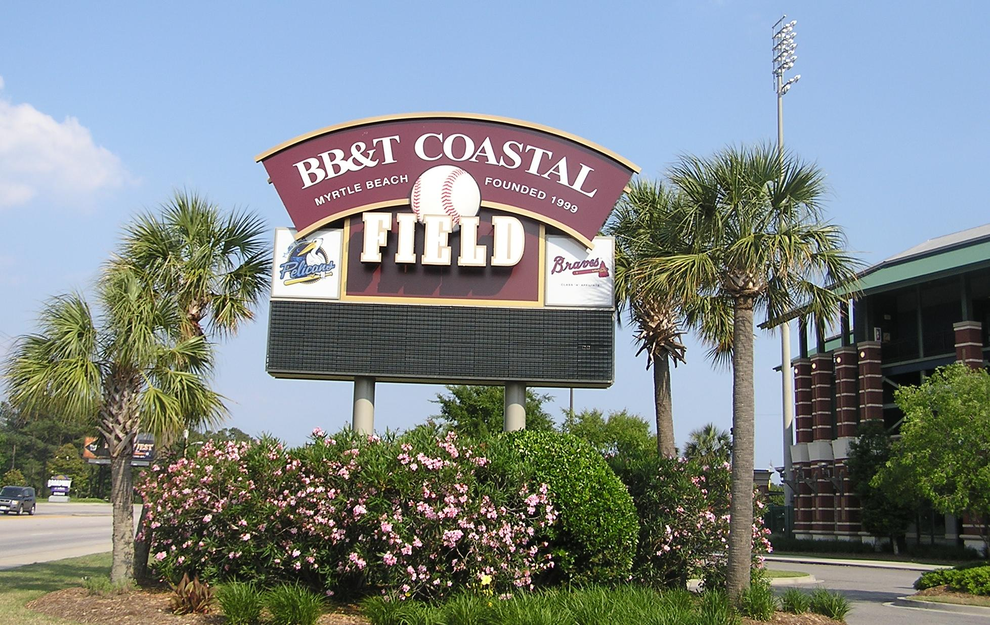 BB&T Coastal Field, Myrtle Beach, SC